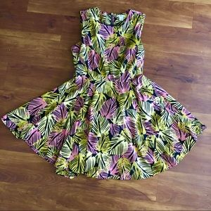 Tropical Tiki Pinup Dress